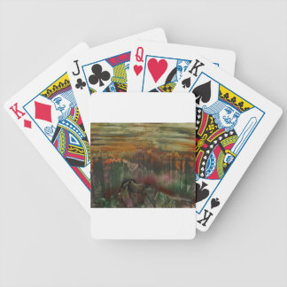 The Sharded Landscape Bicycle Playing Cards
