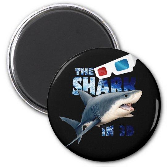 The Shark Movie 2 Inch Round Magnet
