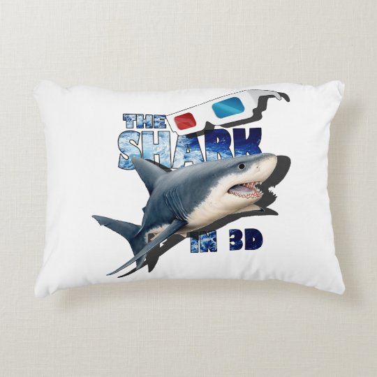 The Shark Movie Accent Pillow