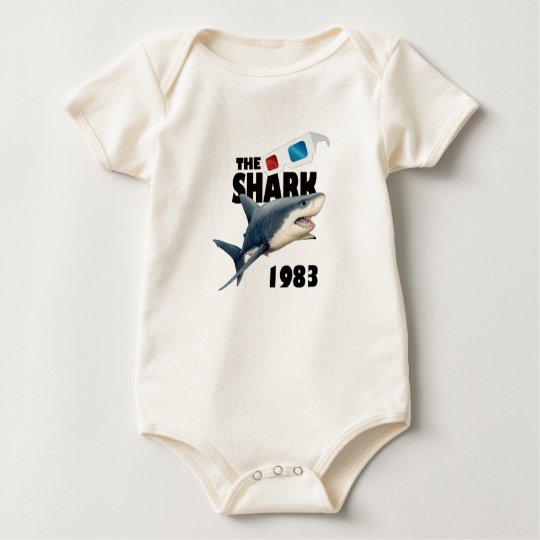 The Shark Movie Baby Bodysuit