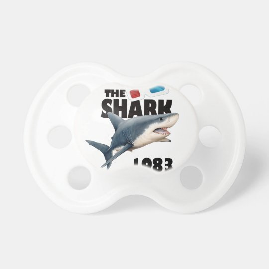 The Shark Movie Baby Pacifiers
