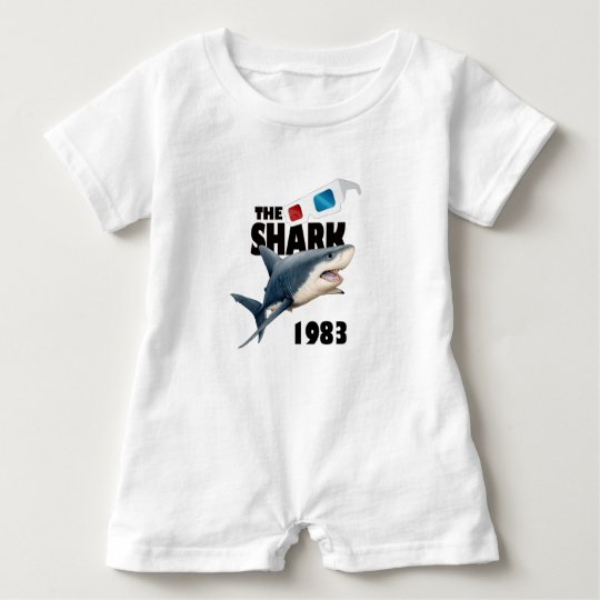 The Shark Movie Baby Romper