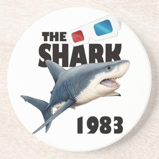 The Shark Movie Beverage Coasters