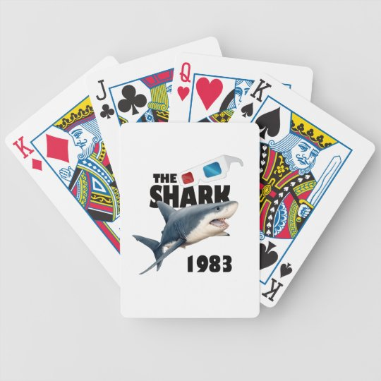 The Shark Movie Bicycle Playing Cards
