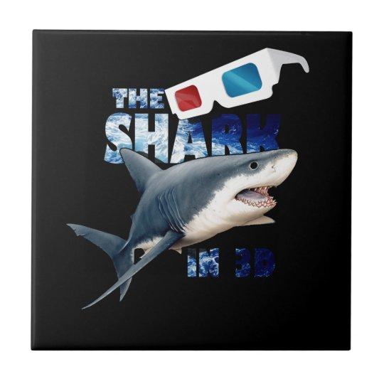 The Shark Movie Ceramic Tile