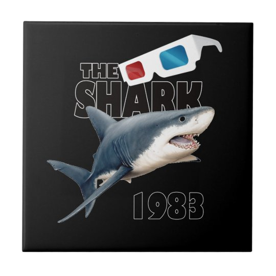 The Shark Movie Ceramic Tiles