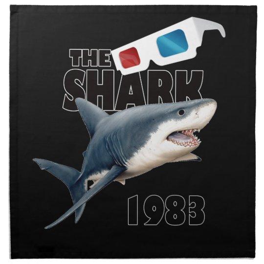 The Shark Movie Cloth Napkin