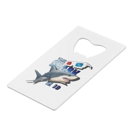 The Shark Movie Credit Card Bottle Opener
