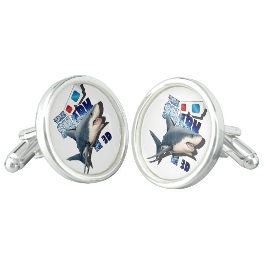 The Shark Movie Cufflinks