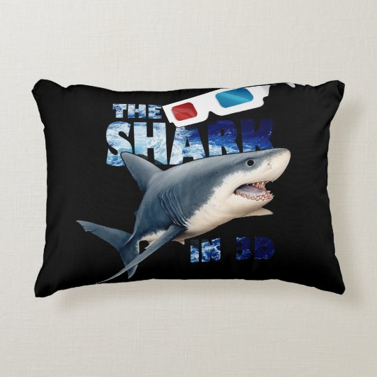 The Shark Movie Decorative Pillow
