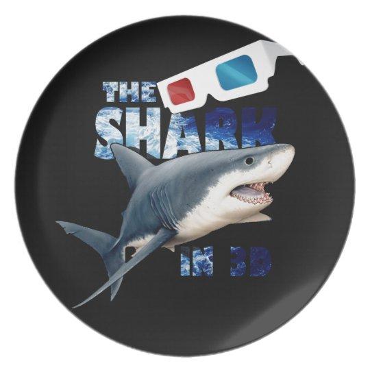The Shark Movie Dinner Plates