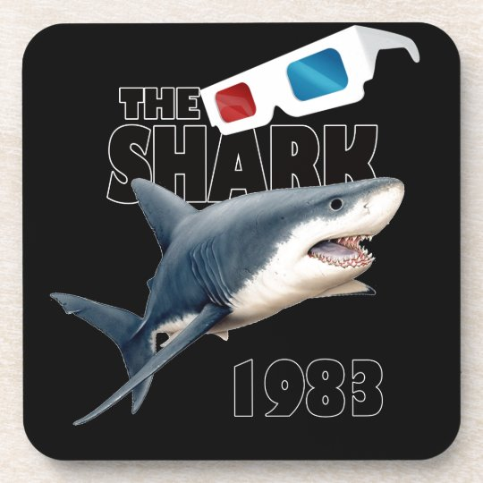 The Shark Movie Drink Coaster
