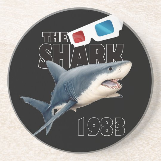 The Shark Movie Drink Coasters