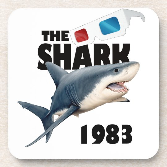 The Shark Movie Drink Coasters