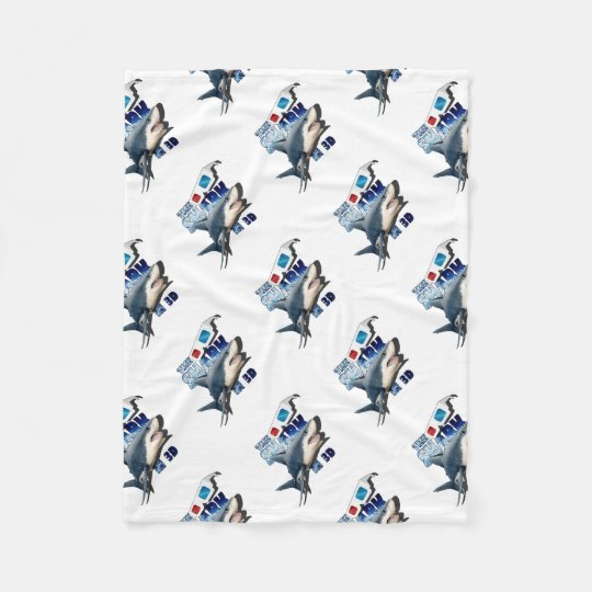 The Shark Movie Fleece Blanket