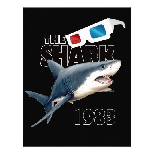 The Shark Movie Letterhead