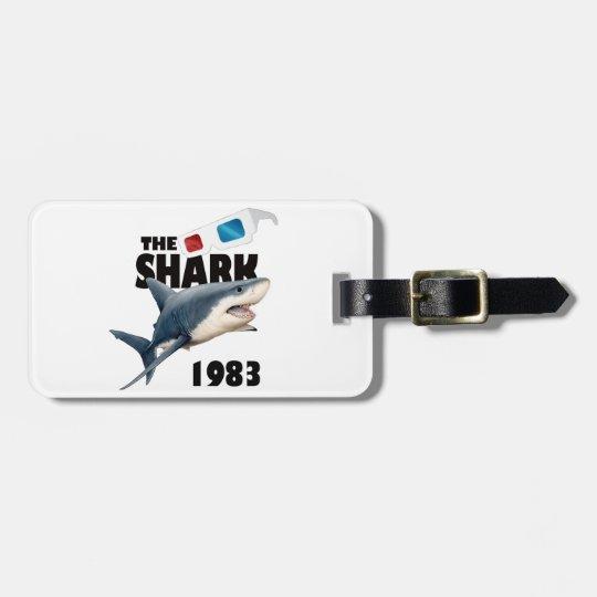 The Shark Movie Luggage Tag