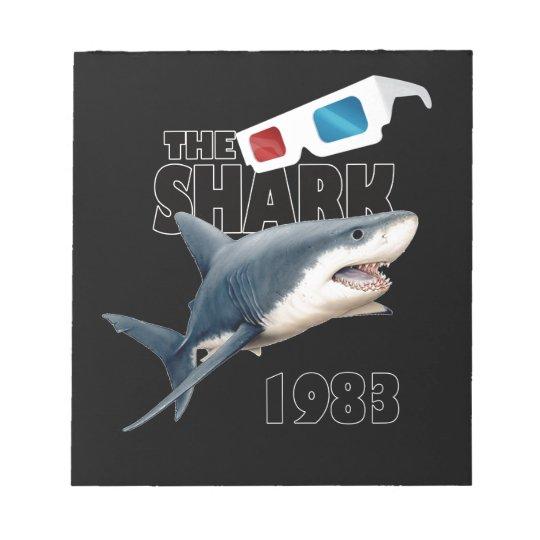 The Shark Movie Notepad
