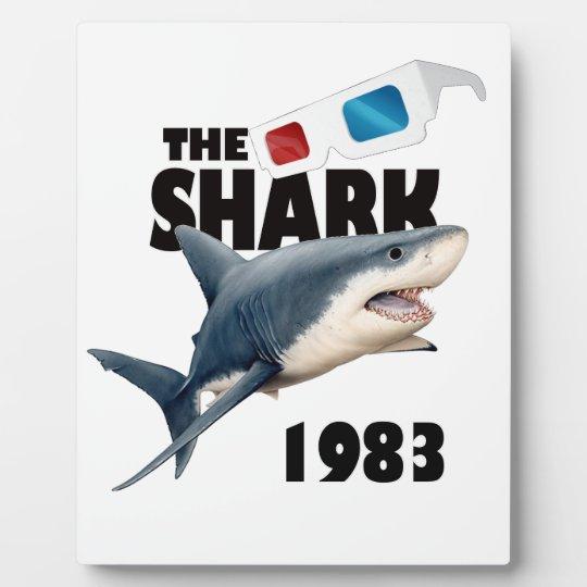 The Shark Movie Plaque