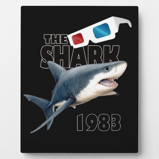 The Shark Movie Plaque