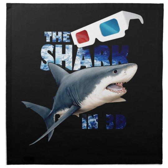 The Shark Movie Printed Napkins