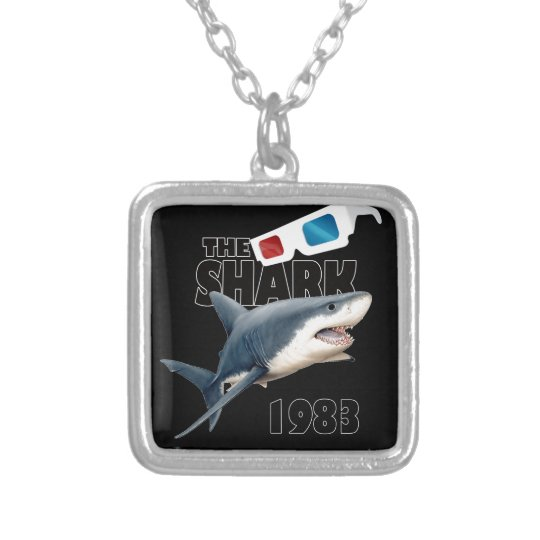 The Shark Movie Silver Plated Necklace