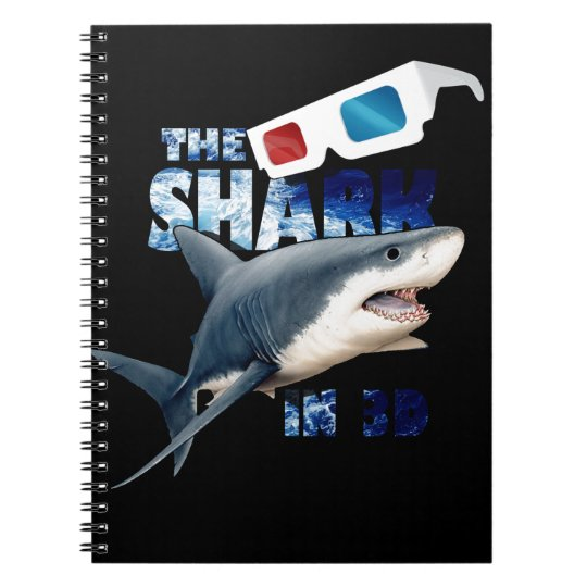 The Shark Movie Spiral Notebook