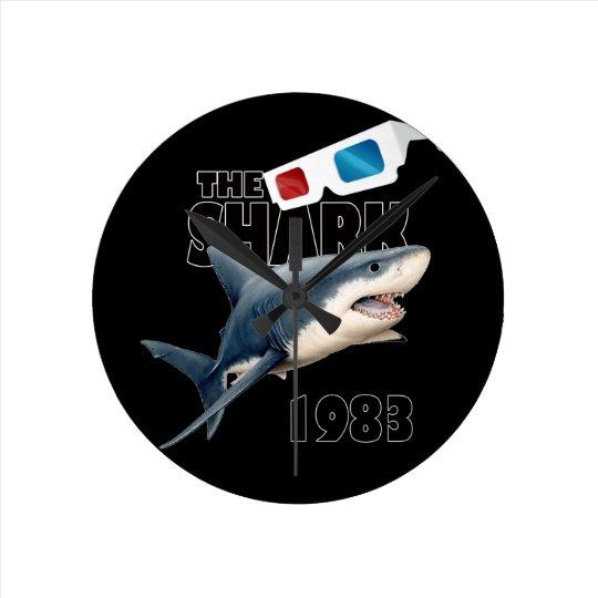 The Shark Movie Wall Clocks