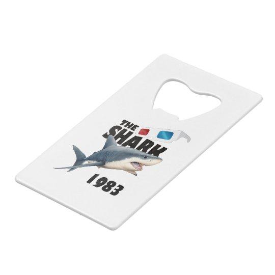 The Shark Movie Wallet Bottle Opener