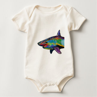 THE SHARK SPECTRUM BABY BODYSUIT