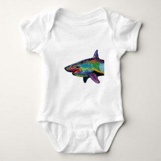 THE SHARK SPECTRUM BABY BODYSUIT