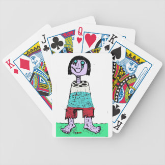 The Sharpest of the Bunch Bicycle Playing Cards