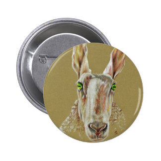 The Sheep 2 Inch Round Button