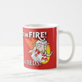 The Sheep are on Fire mug