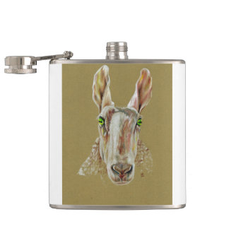 The Sheep Hip Flask