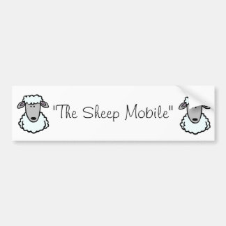 The Sheep Mobile Bumper Sticker