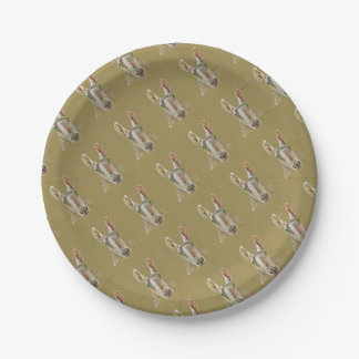 The Sheep Paper Plate