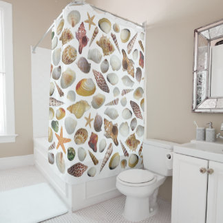 The Shell Collector Shower Curtain