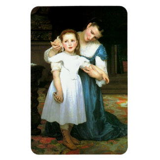 """""""The Shell"""" William-Adolphe Bouguereau Magnet"""