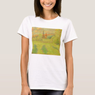 The Shepherd and the Church of Eragny T-Shirt