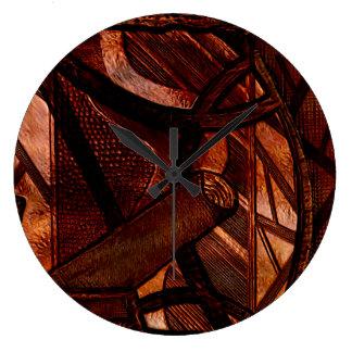 The shine wall clock
