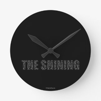 The Shining Round Clock