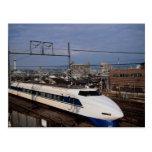 The Shinkansen or Bullet Train, Kyoto, Japan Postcard