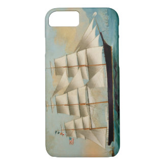 The Ship Fleetwing, Hong Kong Bay iPhone 7 Case