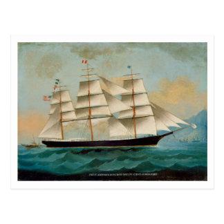 The Ship Fleetwing, Hong Kong Bay Postcard