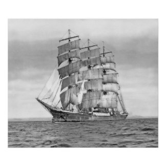 The Ship Passat Poster