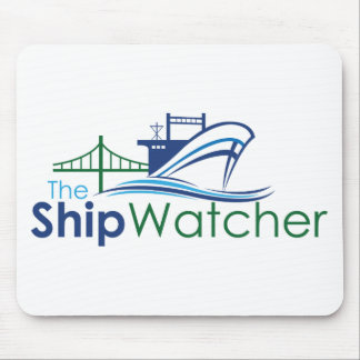 The Ship Watcher Mouse Pad