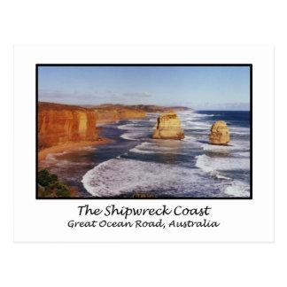 The Shipwreck Coast, Great Ocean Road, Australia Postcard