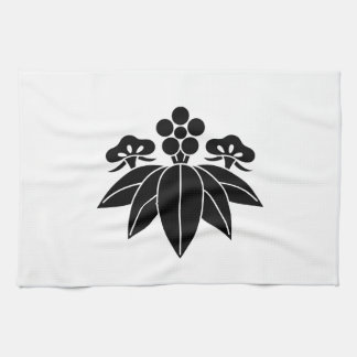 The Shochiku Co., Ltd. plum autumn bellflower Kitchen Towel