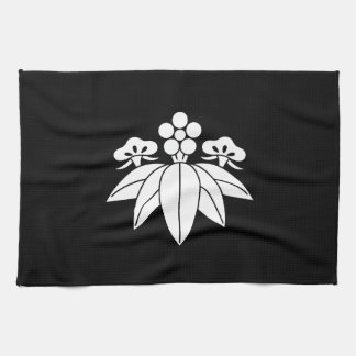 The Shochiku Co., Ltd. plum autumn bellflower Kitchen Towel